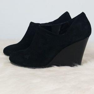 Victoria's Secret ankle wedge bootie